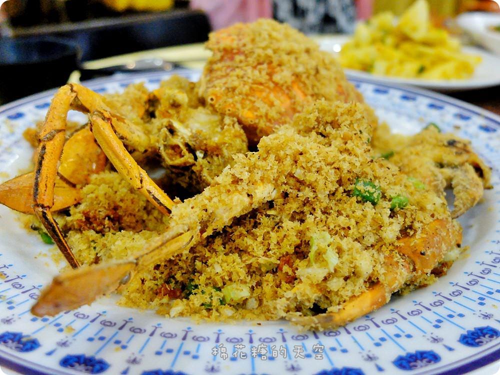 台中螃蟹料理大推薦!大祥料理屋沙公、沙母、處女蟳好好味大熱賣!