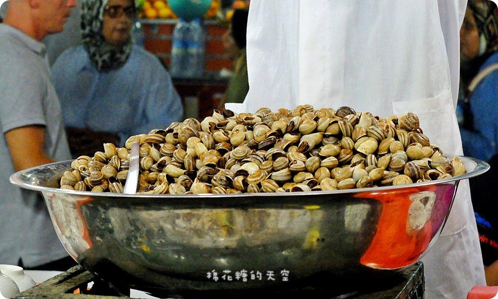 摩洛哥‖馬拉喀什Djemaa el-Fna德吉瑪廣場美食巡禮,舊城大市集Souk尋寶去