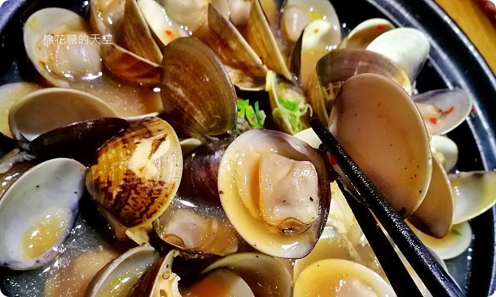 20171116180533 72 - 熱血採訪│台中深夜食堂百川日本串燒,必點酒蒸蛤蠣吃完有彩蛋!就在文心路旁