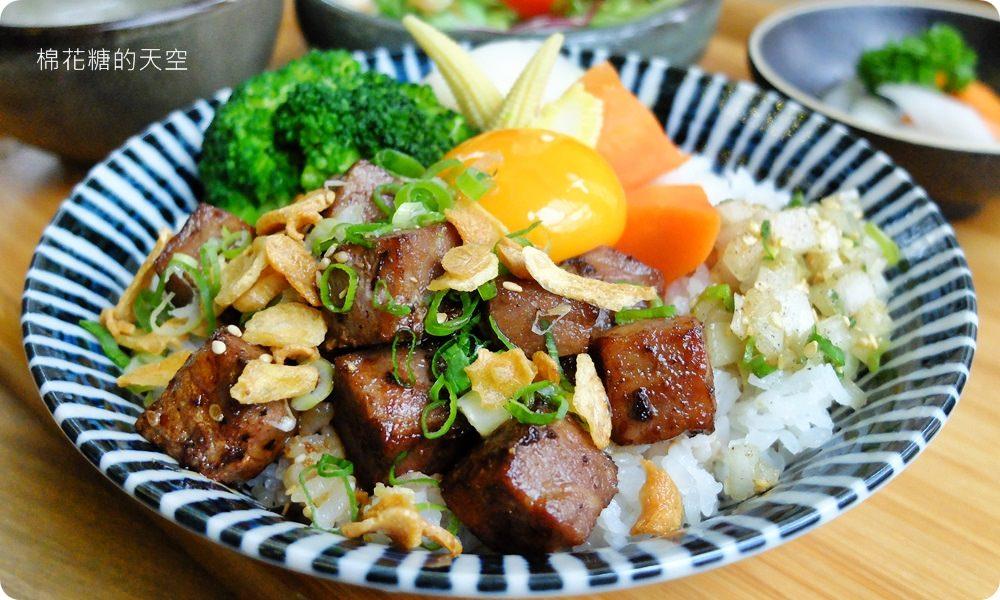 商業午餐也能吃到燒肉等級高檔肉品,新竹義燒肉最新午餐丼飯日式、義式完美融合