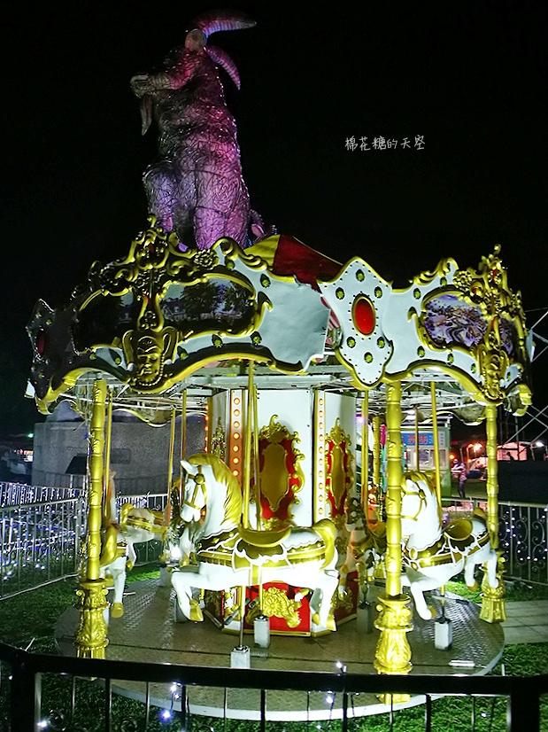 20180225001117 93 - 青蘋果樂園移師2018台中燈會,縮小版旋轉木馬、摩天輪超可愛!
