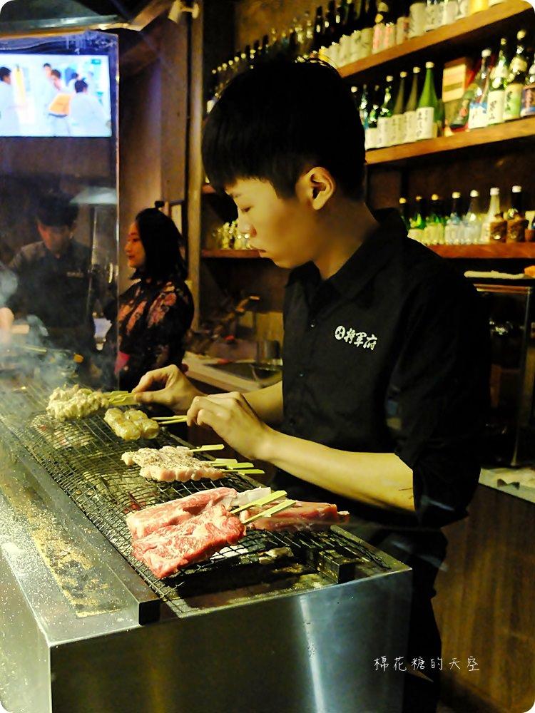 台中人氣居酒屋-將軍府,串燒選擇超多超好吃!大推干貝豬肉燒