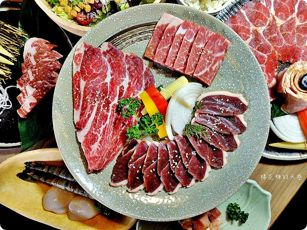 台中雲火伊比利黑豬套餐口感不輸牛肉,加購和牛牛排只要239!