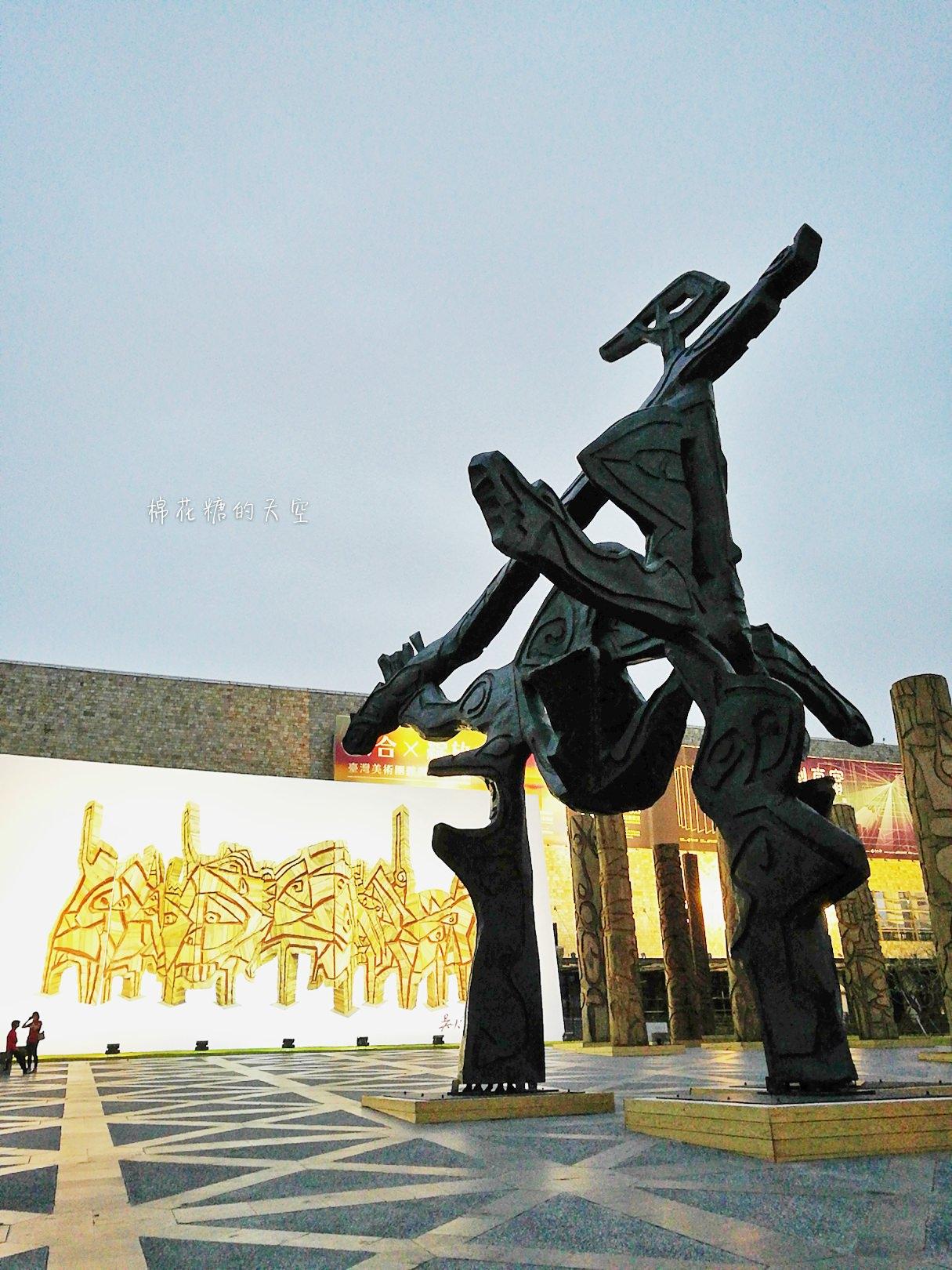 20180319190450 52 - 國立美術館被外星人佔據了?!五層樓高巨型雕塑被巨木圍繞好像電影場景!吳炫三回顧展