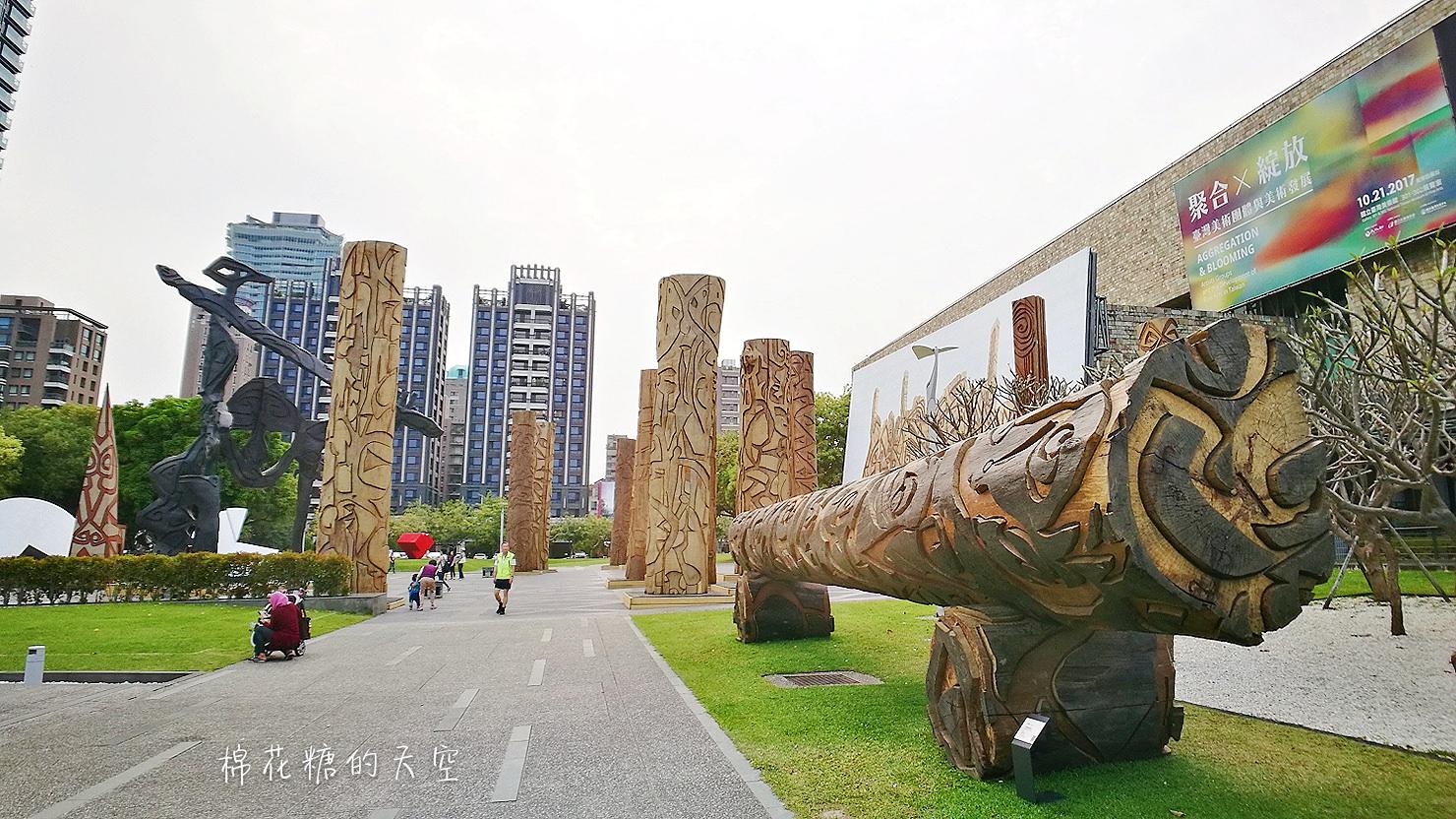 20180319190457 63 - 國立美術館被外星人佔據了?!五層樓高巨型雕塑被巨木圍繞好像電影場景!吳炫三回顧展