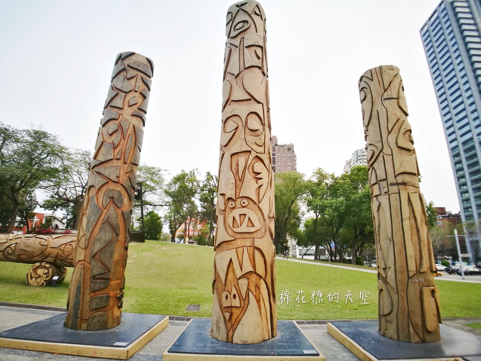 20180319190458 45 - 國立美術館被外星人佔據了?!五層樓高巨型雕塑被巨木圍繞好像電影場景!吳炫三回顧展