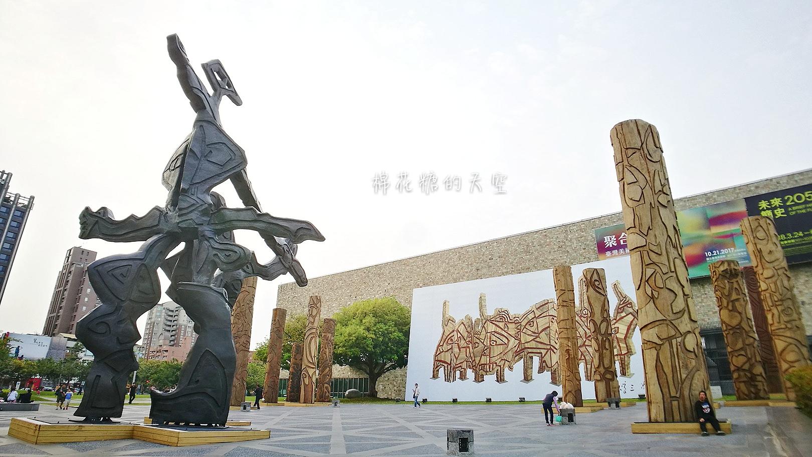 20180319190515 88 - 國立美術館被外星人佔據了?!五層樓高巨型雕塑被巨木圍繞好像電影場景!吳炫三回顧展
