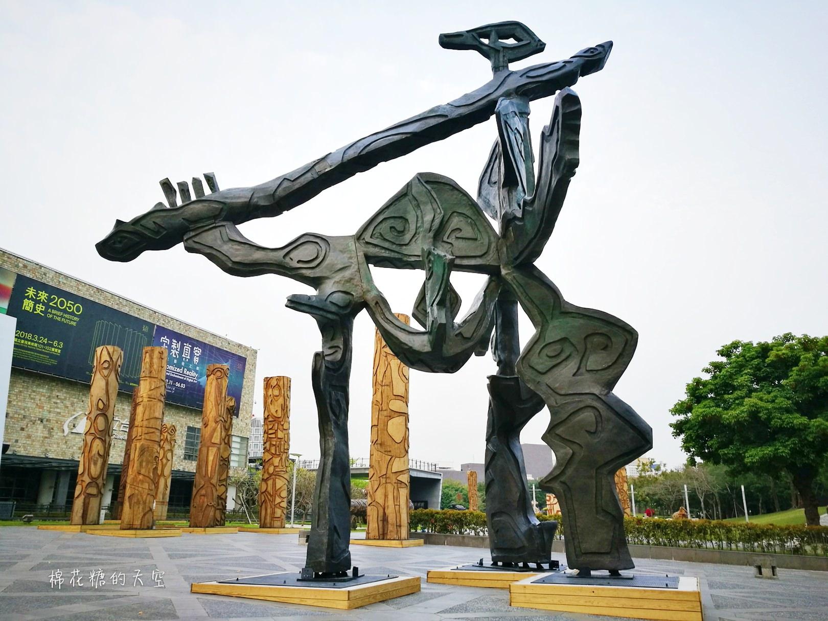 20180319190519 36 - 國立美術館被外星人佔據了?!五層樓高巨型雕塑被巨木圍繞好像電影場景!吳炫三回顧展