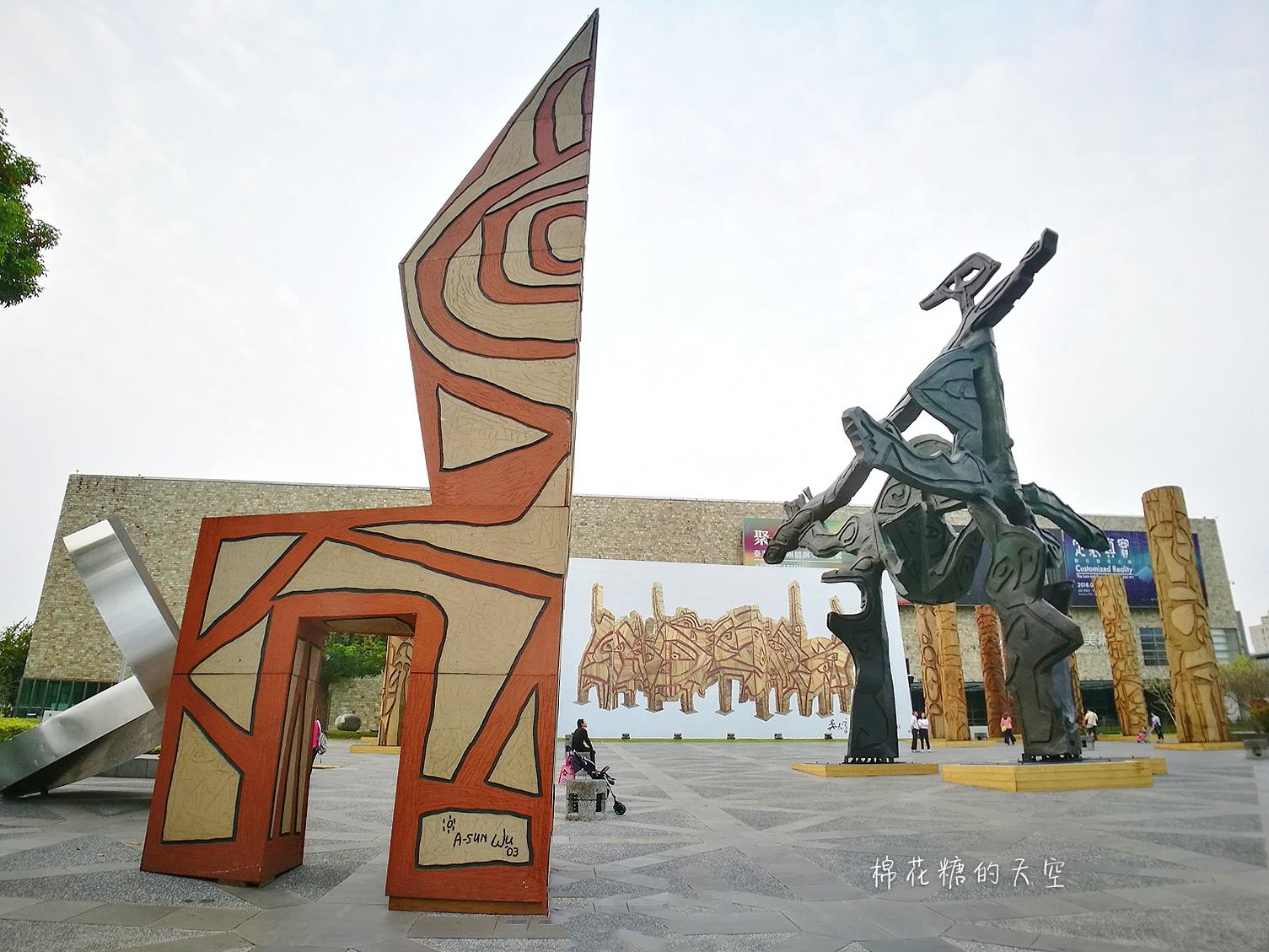 20180319190521 94 - 國立美術館被外星人佔據了?!五層樓高巨型雕塑被巨木圍繞好像電影場景!吳炫三回顧展