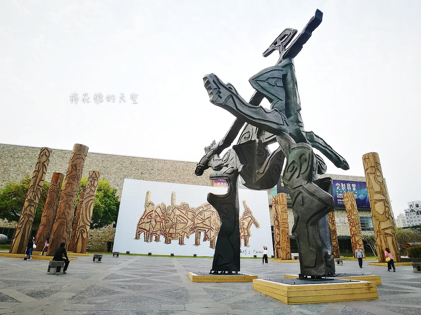 20180319190523 81 - 國立美術館被外星人佔據了?!五層樓高巨型雕塑被巨木圍繞好像電影場景!吳炫三回顧展