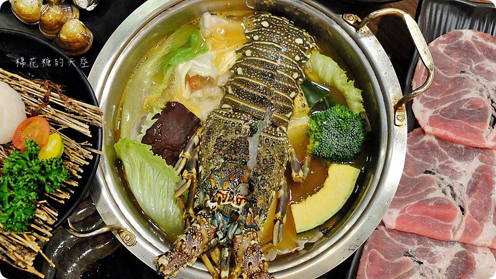 藏在沙鹿小巷的絕品火鍋超彭湃,雙人龍蝦大餐送干貝喔!