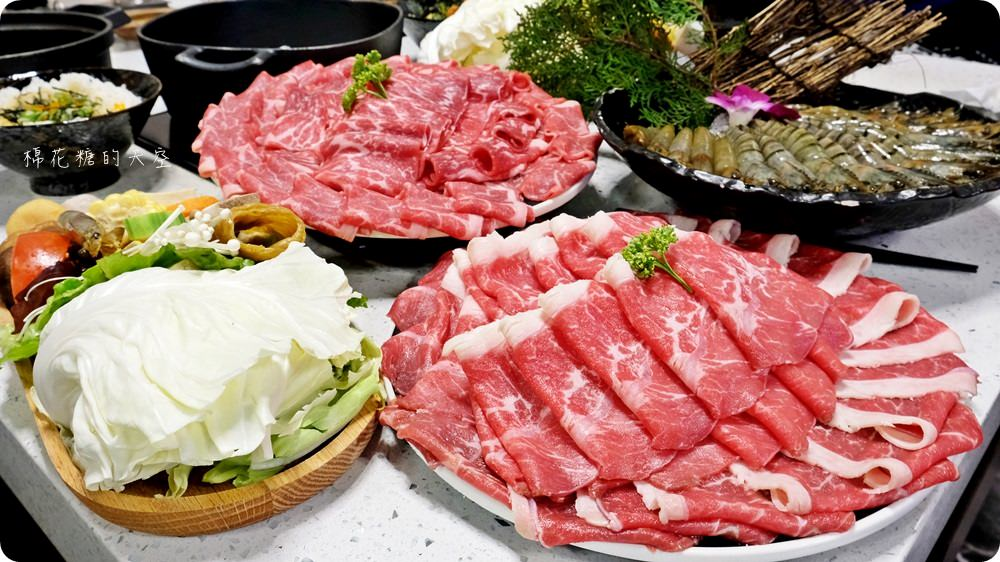 台中火鍋推薦-肉魂鑄鐵料理,超彭湃大胃王套餐50盎司肉盤大滿足