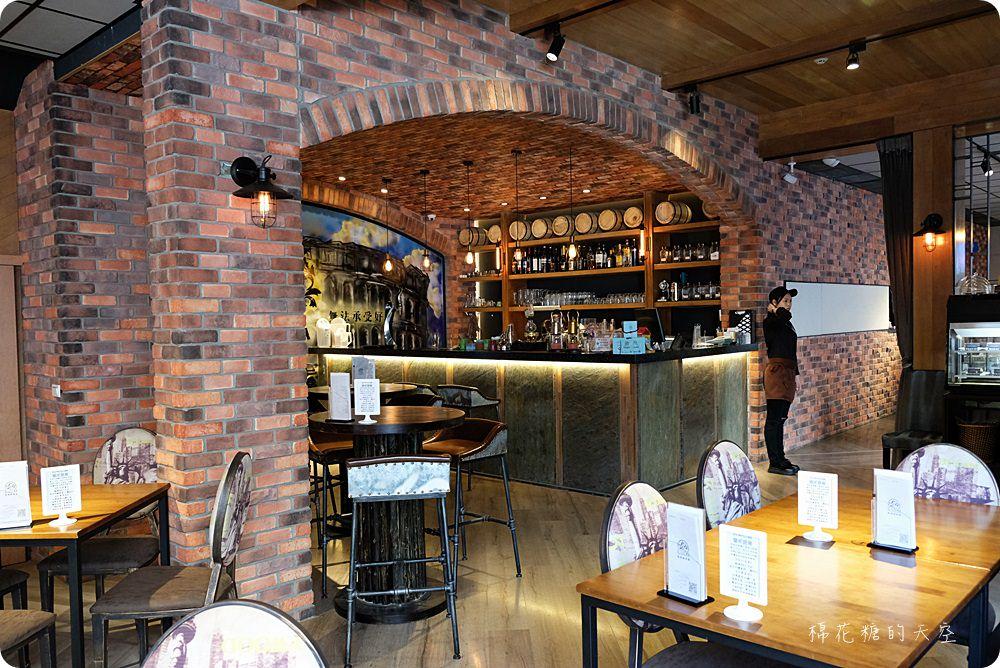 20180414220100 55 - 熱血採訪│熔岩巧克力髒髒披薩就藏在凱度咖啡音樂餐館,我在偽城堡裡吃好料聽好歌
