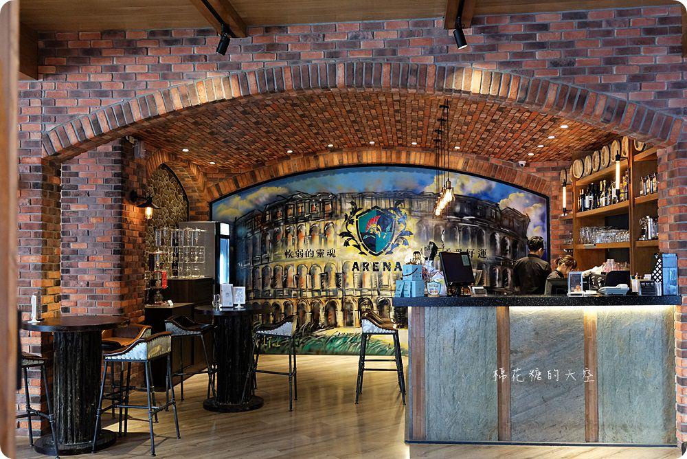 20180414220105 33 - 熱血採訪│熔岩巧克力髒髒披薩就藏在凱度咖啡音樂餐館,我在偽城堡裡吃好料聽好歌
