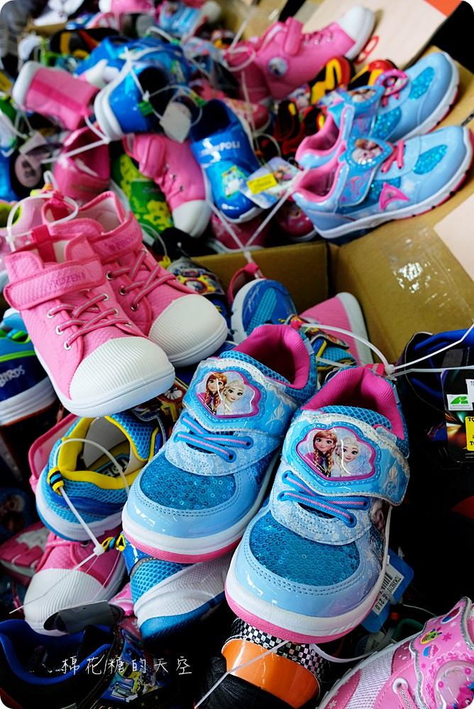 超狂大雅童鞋特賣會!下殺二折甜甜價,NG小朋友涼鞋只要55元!