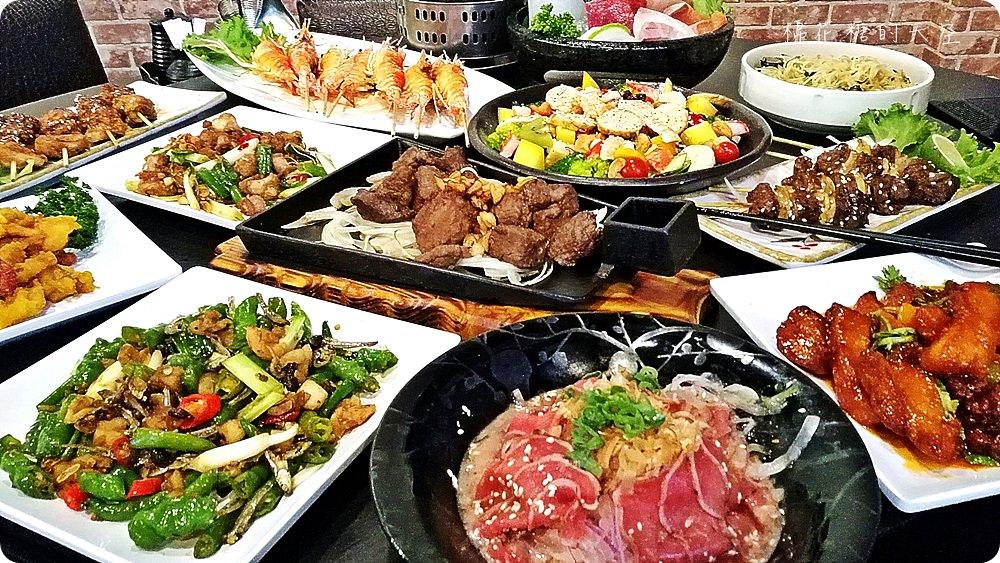 潭子在地人推薦好吃海鮮餐廳-鱻味館,快炒、串燒樣樣在行,推薦必點青龍炒豬油渣