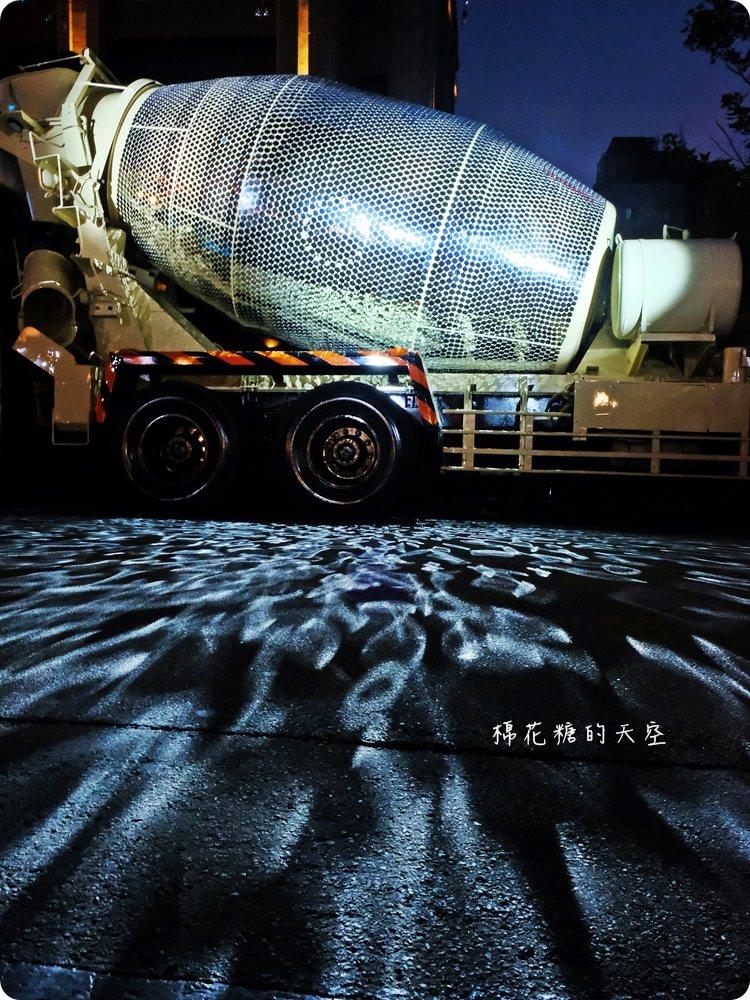 紅點文旅封街開趴啦!水泥車變身大型閃亮亮地球燈~快來動次動次~