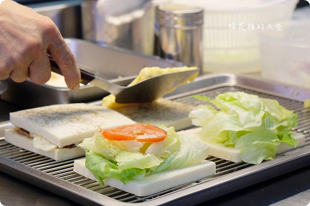 台中綠豆沙老店-台灣洋行,澎湃肉蛋吐司早午餐開賣啦!