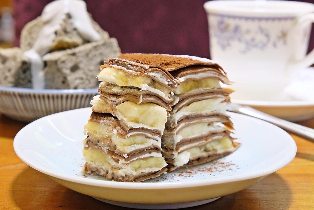 台中千層蛋糕不能錯過這家!豐原葉店不只有咖啡葉還有蛋糕婷!