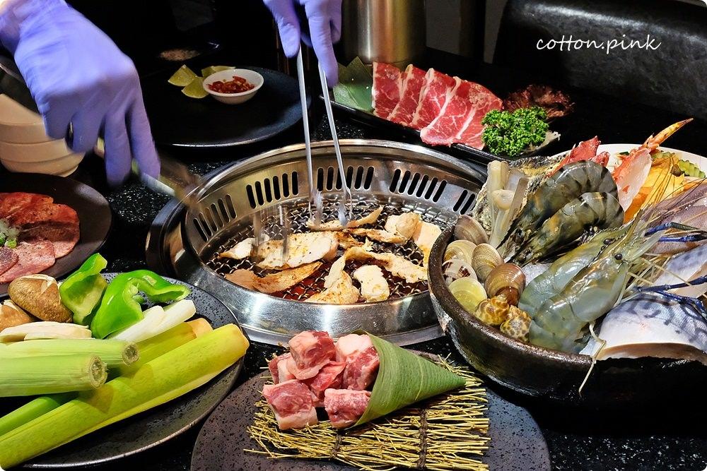 台中燒肉吃到飽懶人包|滿滿的肉肉外加生猛海鮮光是用看的就飽啦~