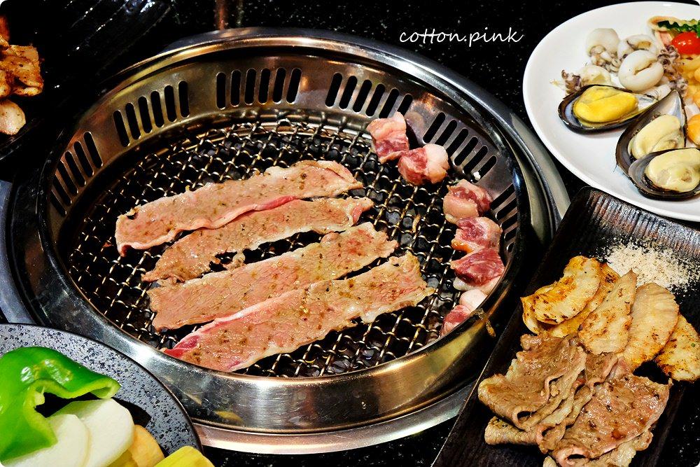 台中燒烤吃到飽首選!干貝、帝王蟹、黑毛牛、哈根達斯任你點,大口吃肉、大啖海鮮就在潼阪頂級燒烤