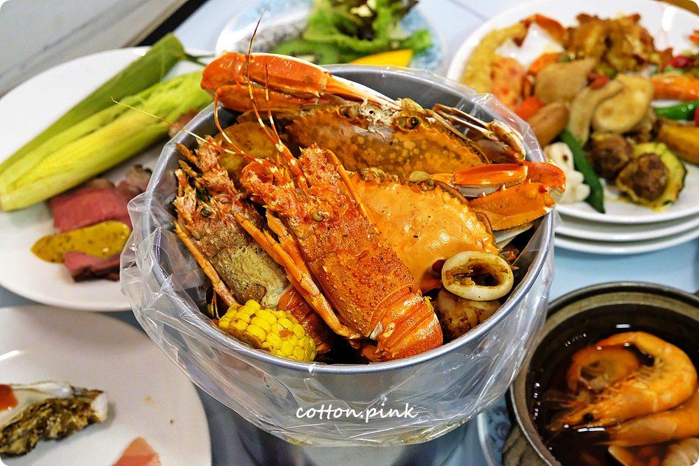 台中吃到飽餐廳推薦|新天地崇德店滿滿好料海鮮桶新上市,螃蟹、生蠔、牛排通通吃免驚!
