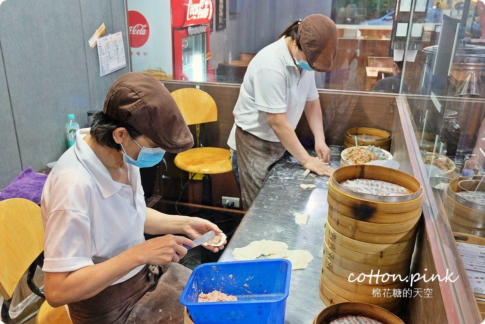 台中小籠湯包推薦|皇宸饌滿滿蟹黃小籠湯包海味爆炸超好吃(原皇盛祥)