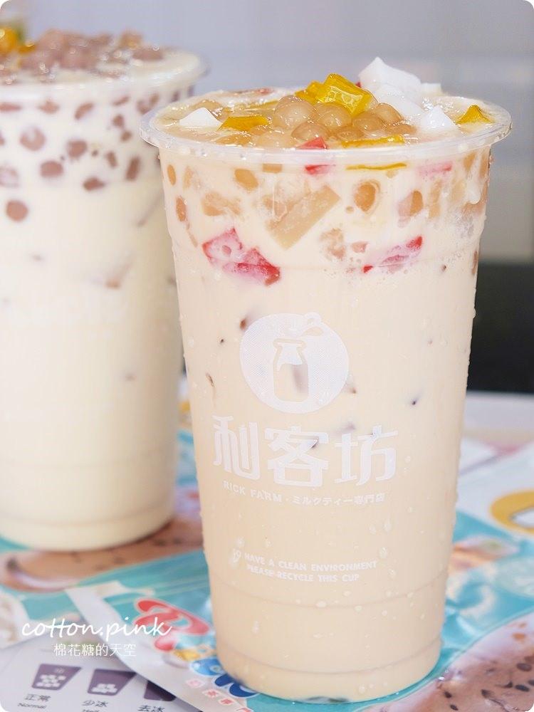 逢甲夜市最新手搖飲料!!芋圓、蒟蒻、椰果、奶蓋茶~離逢甲最近的手搖飲料-利客坊全新開幕