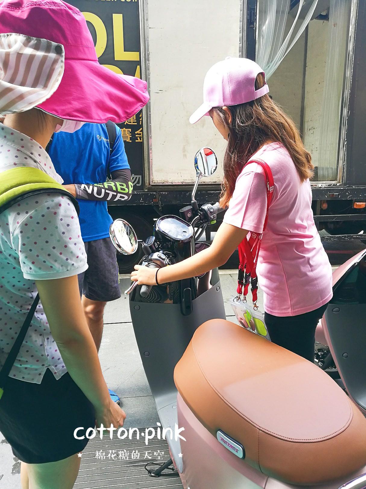 20180822162937 39 - 勤美最新打卡景點│粉紅色毛毛怪獸只到9月2日,gogoro粉紅突襲巡迴試騎