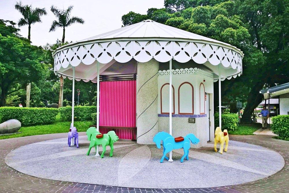 20180830180350 82 - 全台唯一五星級旋轉木馬廁所藏匿在台中公園!你上過了嗎?