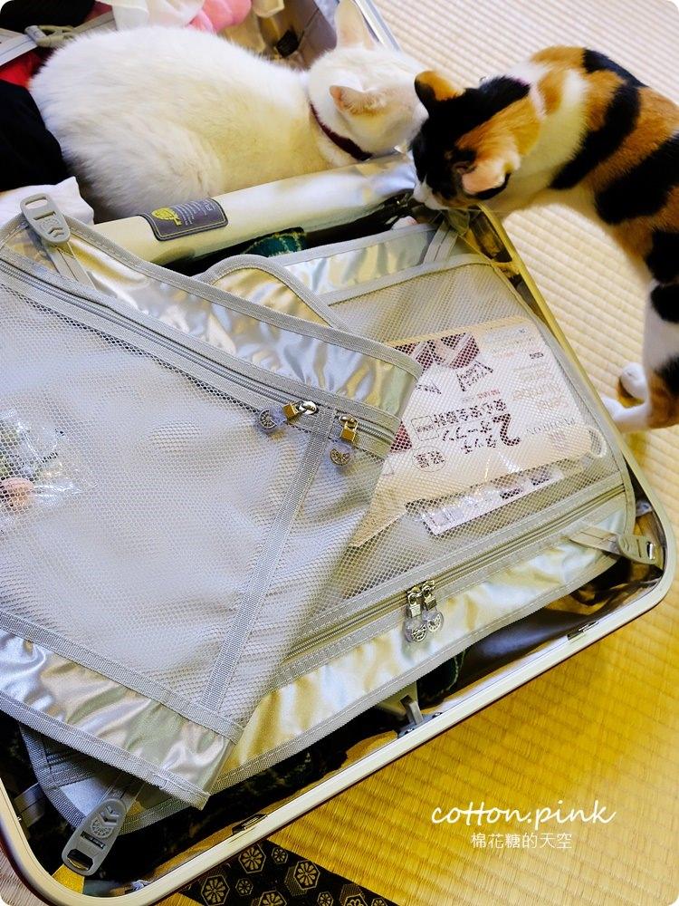 行李箱推薦|日本PANTHEON超美玫瑰紅24吋硬殼行李箱開箱介紹