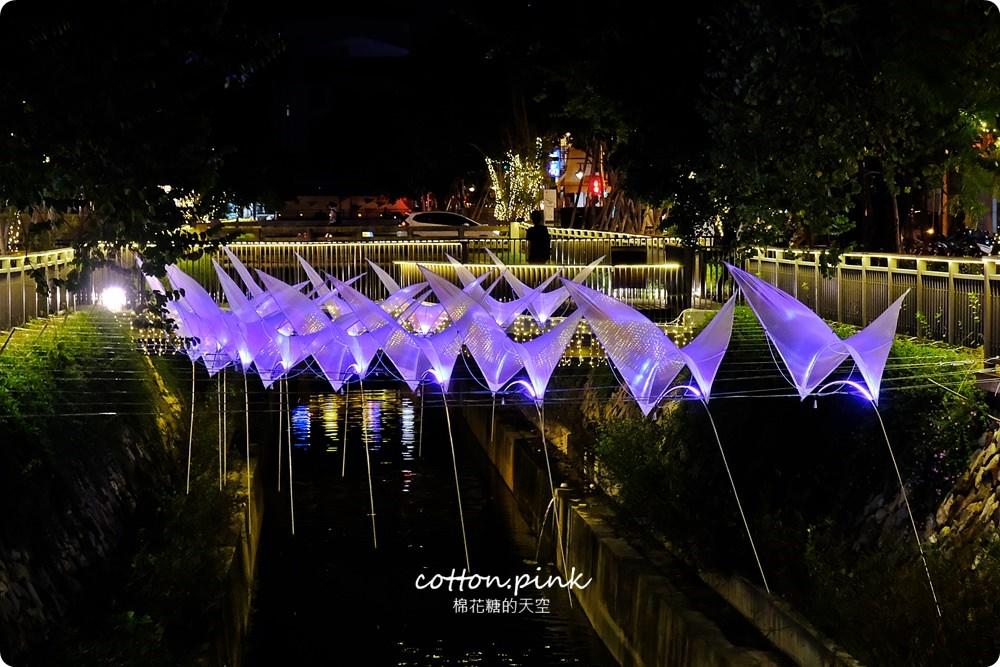 20181021215111 6 - 台中旅遊景點|台中綠川換新裝,IG打卡拍一波,夜裡亮燈超浪漫