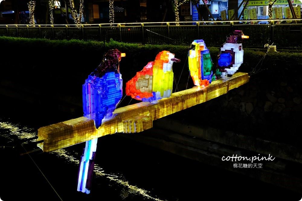 20181021215129 4 - 台中旅遊景點|台中綠川換新裝,IG打卡拍一波,夜裡亮燈超浪漫