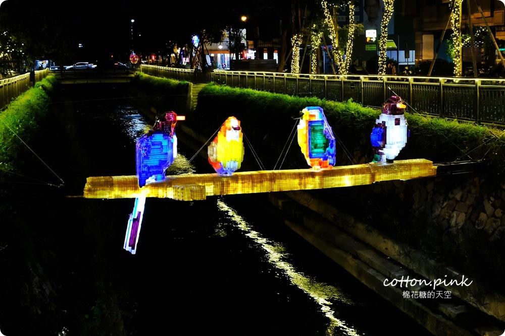 20181021215137 29 - 台中旅遊景點|台中綠川換新裝,IG打卡拍一波,夜裡亮燈超浪漫