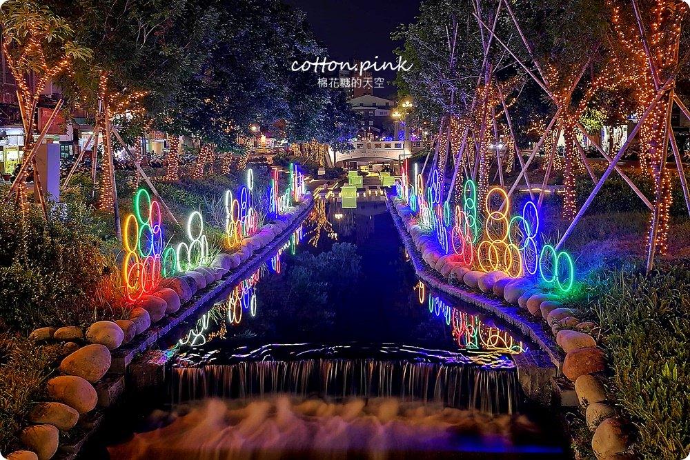 20181021215139 7 - 台中旅遊景點|台中綠川換新裝,IG打卡拍一波,夜裡亮燈超浪漫