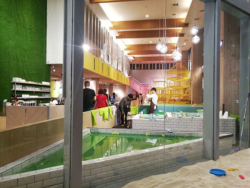 20181127222010 81 - 台中親子餐廳重新開幕,大樹先生台中店多種運動設備快帶孩子來放電