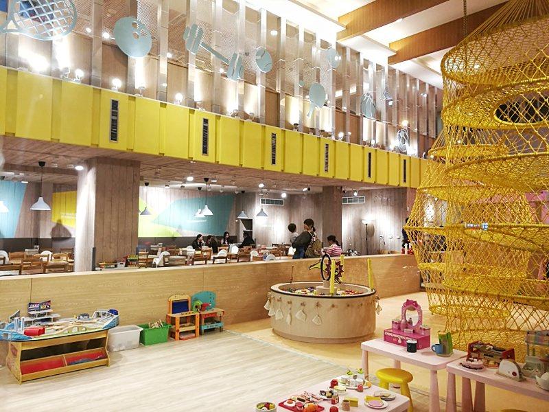 20181127222023 64 - 台中親子餐廳重新開幕,大樹先生台中店多種運動設備快帶孩子來放電