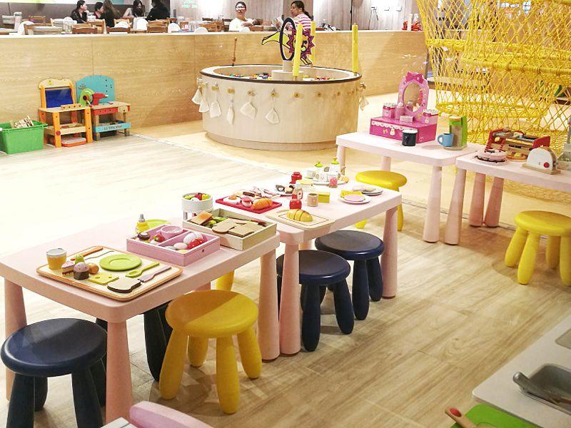 台中親子餐廳重新開幕,大樹先生台中店多種運動設備快帶孩子來放電