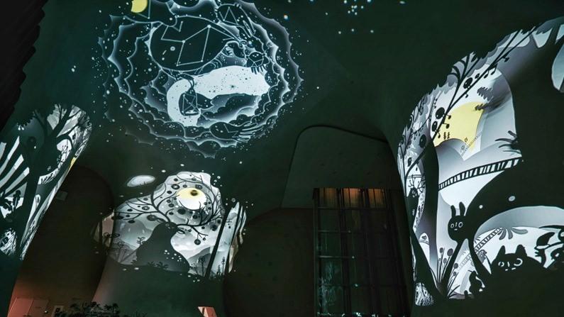 台中旅遊推薦-2018台中歌劇院最新聖誕活動開跑啦!限時兩周~魔幻曲牆光影秀免費參觀唷