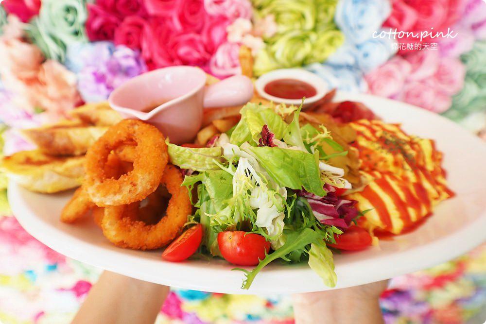 20190301054009 78 - 熱血採訪│台中超大份量早午餐,FUN輕鬆直接給你整條法國吐司