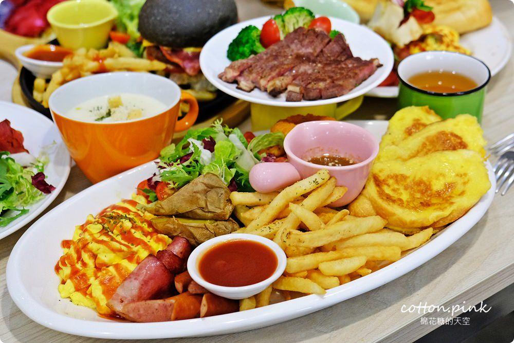 20190301054013 16 - 熱血採訪│台中超大份量早午餐,FUN輕鬆直接給你整條法國吐司