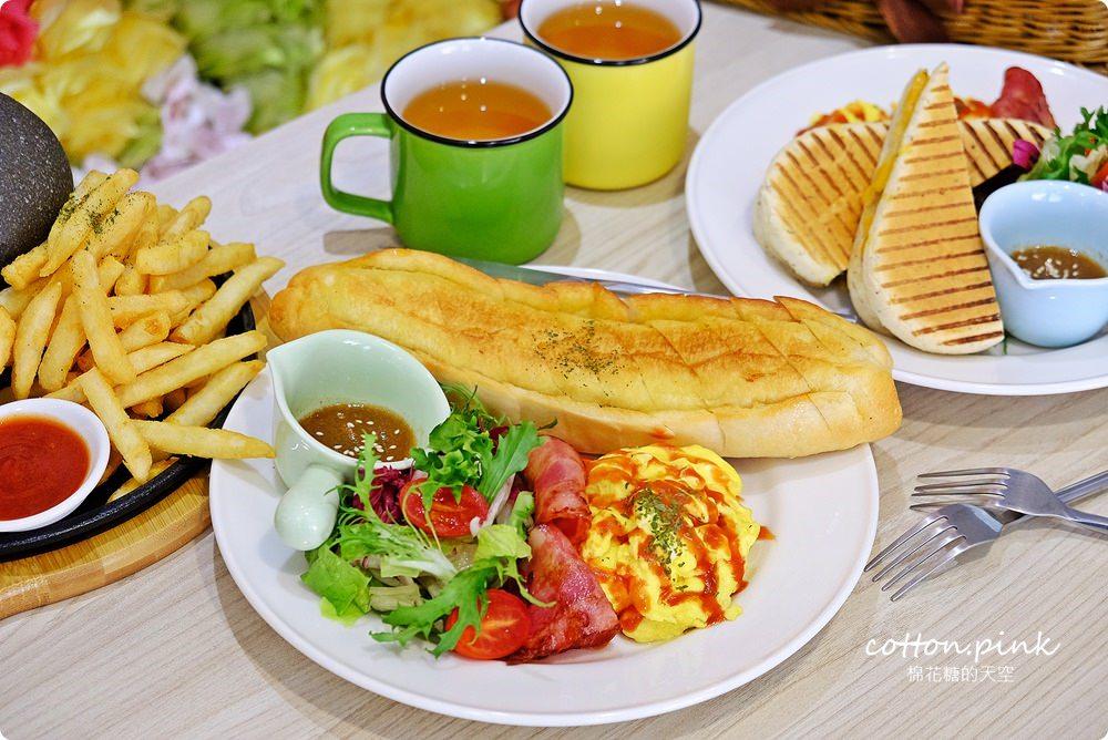 20190301054039 11 - 熱血採訪│台中超大份量早午餐,FUN輕鬆直接給你整條法國吐司