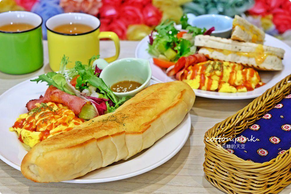 20190301054041 43 - 熱血採訪│台中超大份量早午餐,FUN輕鬆直接給你整條法國吐司