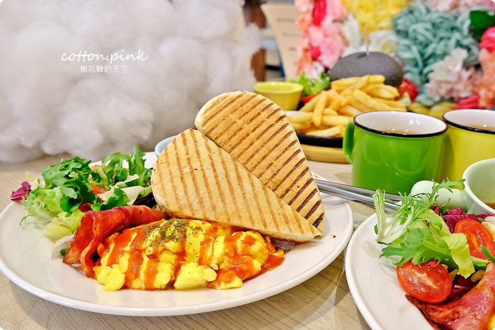 20190301054056 36 - 熱血採訪│台中超大份量早午餐,FUN輕鬆直接給你整條法國吐司