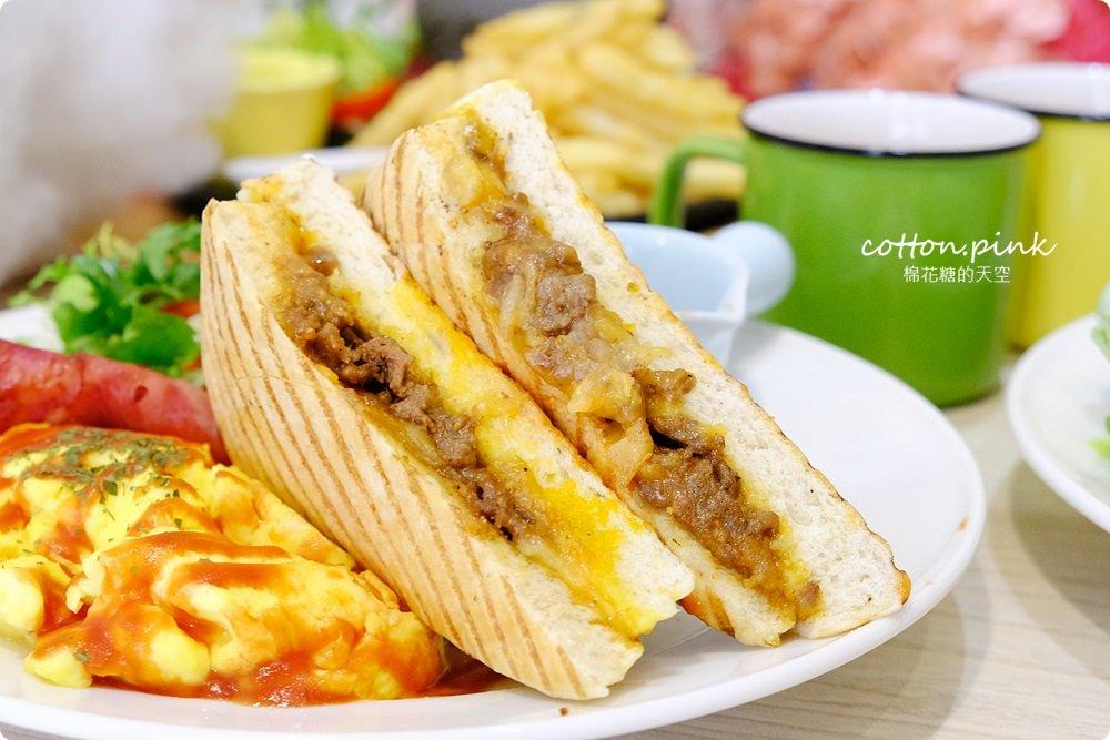 20190301054057 54 - 熱血採訪│台中超大份量早午餐,FUN輕鬆直接給你整條法國吐司