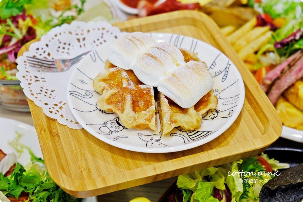20190301054119 32 - 熱血採訪│台中超大份量早午餐,FUN輕鬆直接給你整條法國吐司