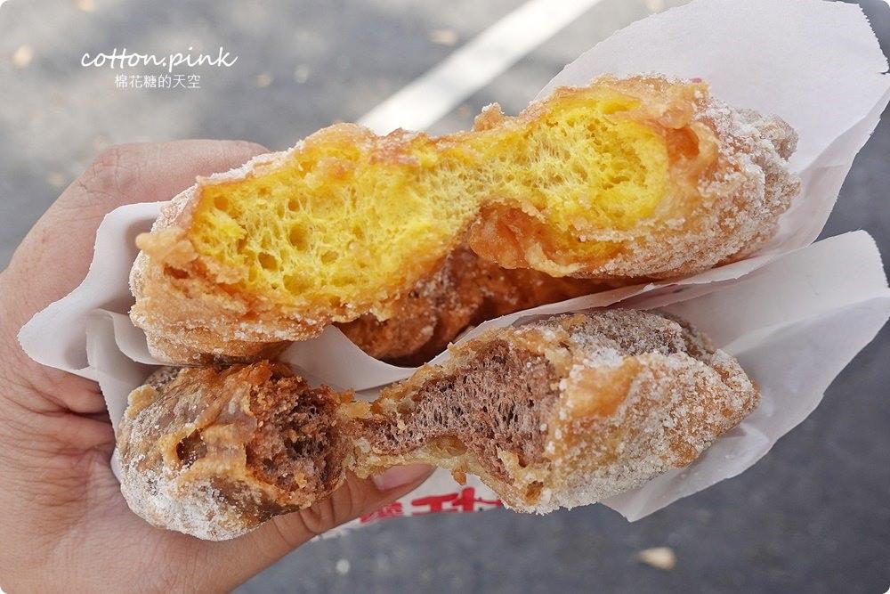 20190305074700 22 - 沙鹿人氣美食-路邊脆皮甜甜圈下午茶時間叫人無法抗拒阿!