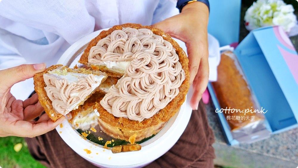 台中母親節蛋糕推薦|義式冰淇淋蛋糕專賣店-法雅花園甜點,隱藏版芋馨派只賣母親節錯過等明年