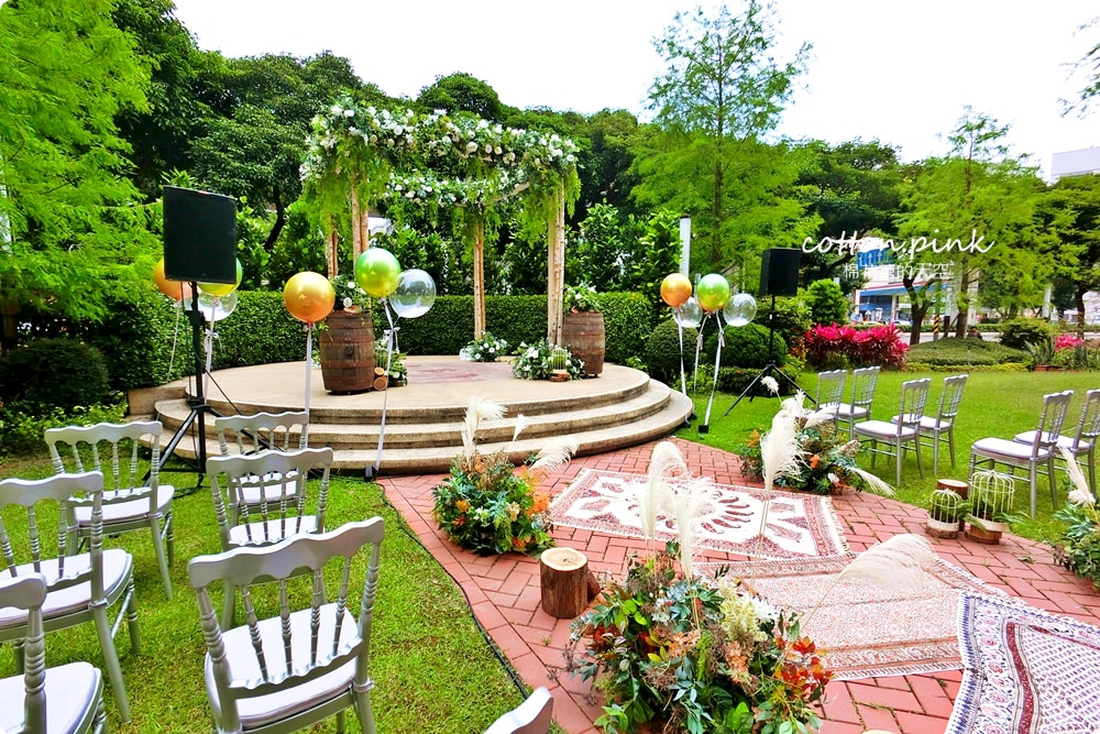 超夢幻戶外婚禮首選-維多麗亞酒店,五星級高水準婚宴場地~台北市區也能輕鬆舉辦海島風婚禮