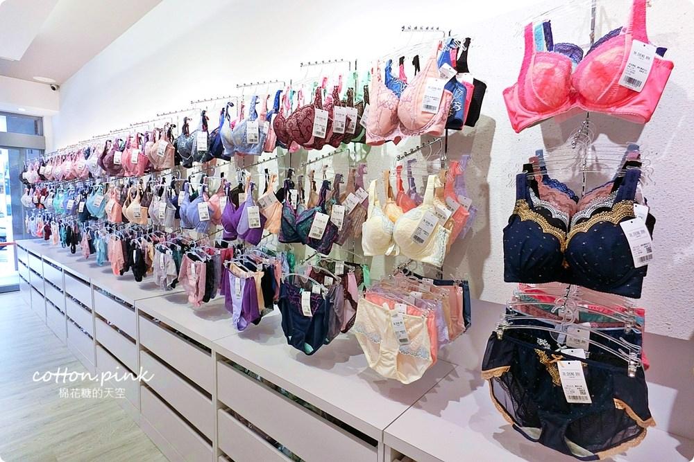台中老牌大成內衣逢甲夜市開分店啦!香港女孩兒必買就是這一套!六色通通帶回家……